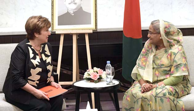 The World Bank will provide support to Bangladesh in its efforts to face the climate change Says WB Chief Executive Officer.