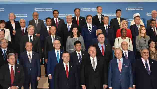 Foreign Minister participates in the 2nd Ministerial to Advance Religious Freedom in Washington, D.C.