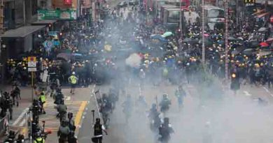 The UN High Commissioner for Human Rights has condemned any form of violence of property in Hong Kong Special Administrative Region and called for restraint by both parties.