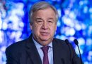 United Nations Secretary-General  António Guterres welcomes prisoner exchange between the Russia and Ukraine