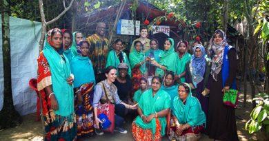 Ambassador Miller: U.S. Humanitarian assistance supports Bangladeshi communities affected by Rohingya crisis.