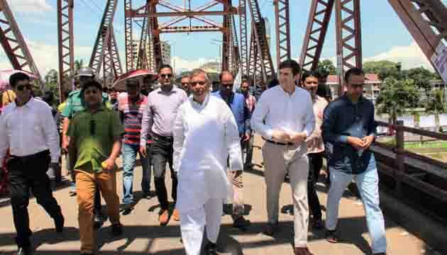 U S  Ambassador to Bangladesh Earl R Miller visits Sylhet