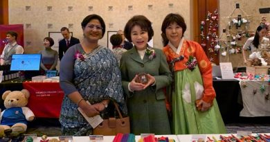 Bangladesh Embassy Participated in the Seoul International Women's Association (SIWA) Bazaar 2019