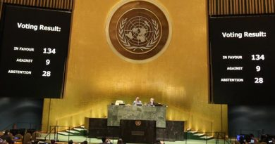 Resolution on Myanmar adopted at the UN General Assembly with an overwhelming majority