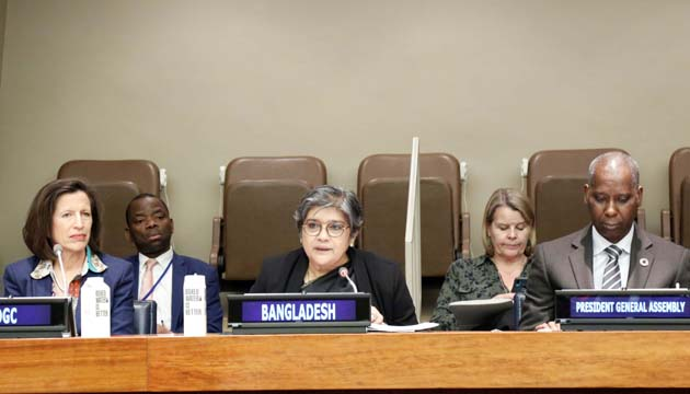 The Global Community urges to use the power of Language for addressing the rise of conflict, intolerance and social tensions.
