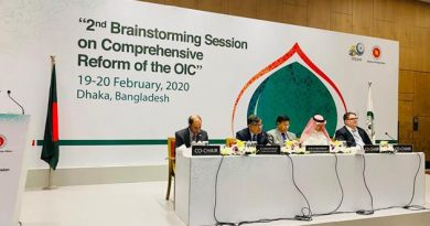 Foreign minister of Bangladesh commends Saudi support for the OIC