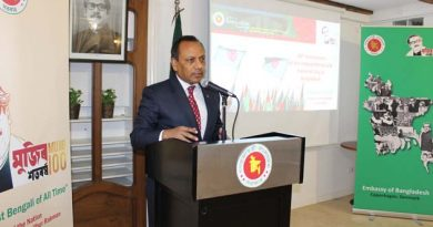 Independence and National Day of Bangladesh 2020 observed in Copenhagen