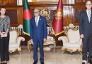 The newly appointed German Ambassador to Bangladesh  presents credentials to President.