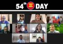 The 54th ASEAN Day virtually has been celebrated in Dhaka.