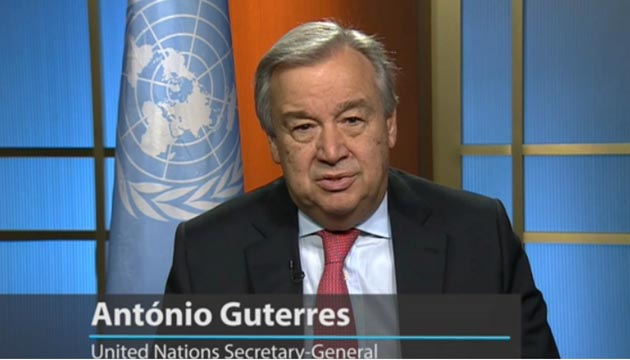 let us commit to a future in which we recognize human rights and the rule of law as fundamental to democracy – Antonio Guterres .
