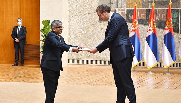 Bangladesh Ambassador presents credentials to the Serbian President